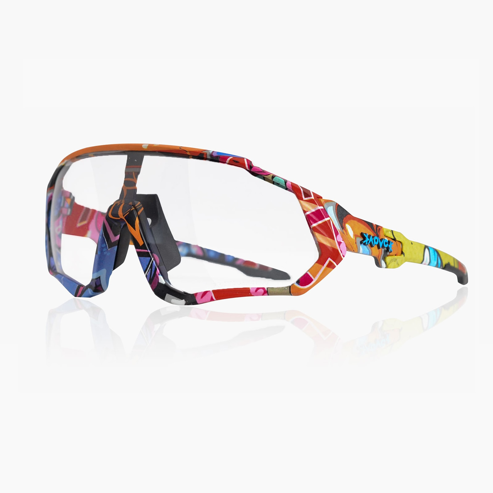 Discoloration Cycling Sunglasses Windproof Goggles Sports Mountain Bicycle Eyewear Lunette De Soleil Homme Cycling Equipment