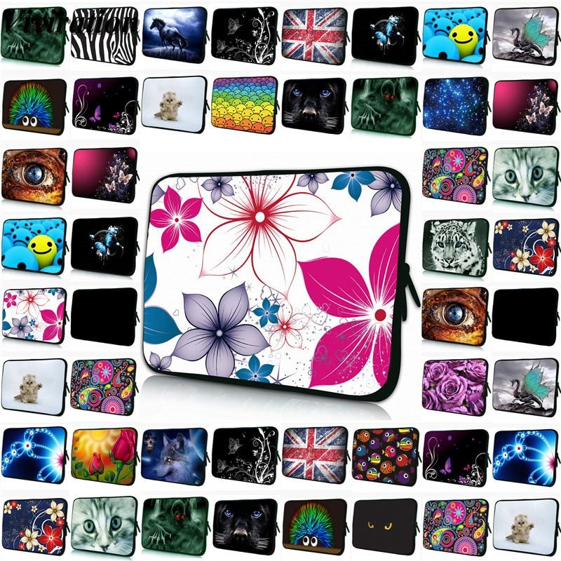Vogue Funda Portatil 15.6 15 11.6 12 13 14 17 Laptop Bag For Xiaomi MiPad 4 iPad Mini 5 iPad Air 3 Neoprene 7 9.7 10 Tablet Case