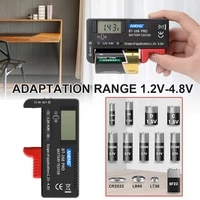 bt 168dpro battery tester can test 18650 battery capacity tester high precision digital display battery measuring instrument