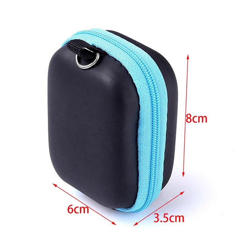 6 Bottles 5ml Essential Oil Bottle Carry Case Protects EVA Zipper Design Shockproof Durable home Storage Bag Receive lipstick