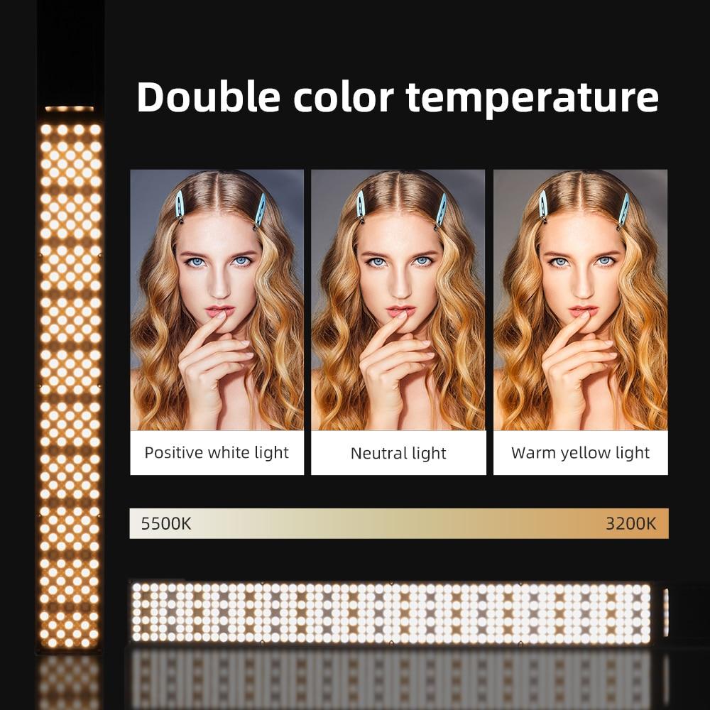 Yongnuo YN360 III YN360III Handheld 3200K-5500K RGB Colorful Ice Stick LED Video Light Touch Adjusting Controlled by Phone App