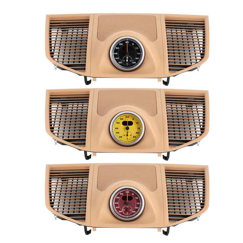 ساعة لوحة العدادات ، الغطاء العلوي ، كرونو ، متوافقة مع سيارات بورش ماكان 2014 ، 2015 ، 2016