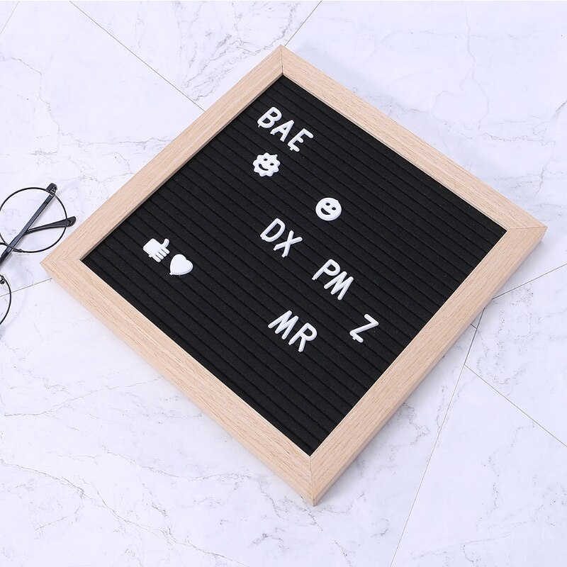 Postacie na filcowa tablica na wiadomości 340 sztuk numerów na wymienną tablicę listową K1MF