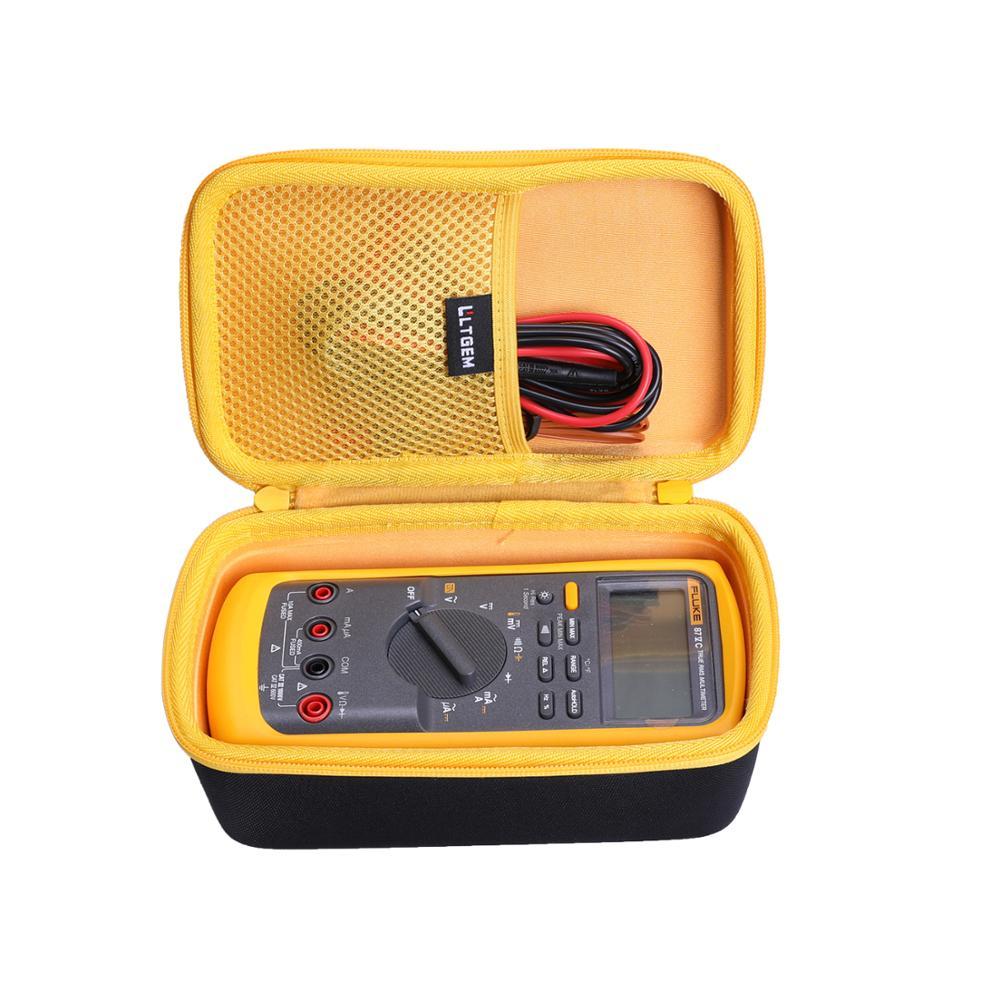 LTGEM Waterproof EVA Hard Case for Fluke 87-V Digital Multimeter