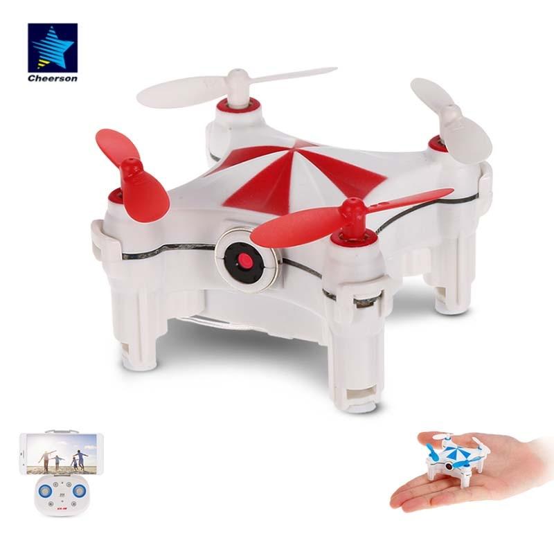 Cheerson CX-OF صغيرة بدون طيار مع كاميرا Wifi FPV البصرية تدفق الجاذبية الاستشعار 360 ° الوجه Quadcopter للأطفال هدايا RC هليكوبتر