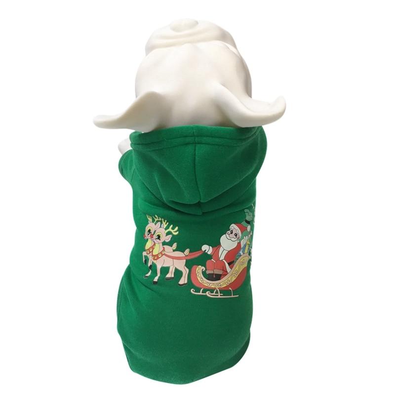 Mascota perro Sudadera con capucha abrigo Festival Grooming accesorios espesamiento Otoño Invierno disfraz perro Navidad Sudadera con capucha mujer Inverno
