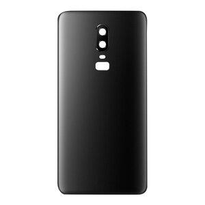 Image 4 - Оригинальный сменный задний корпус для Oneplus 6, задняя крышка, аккумулятор, стекло для One Plus 6, задний Сменный Чехол с логотипом