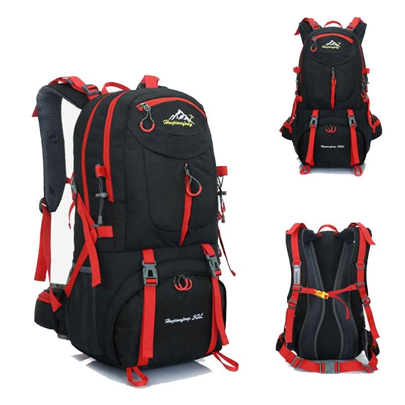 60l 50l 40l mochila de viagem à prova dwaterproof água pacote saco de esportes ao ar livre montanhismo caminhadas escalada недорого