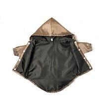 Schnauzer Coat Jacket Poodle Windbreaker for Pug Apparel Chihuahua Costume PC1185