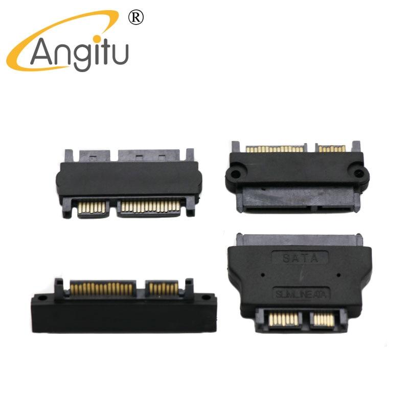 Адаптер Angitu SATA папа-папа адаптер Sata папа-мама SATA 22Pin 7 + 15 папа адаптер кабель