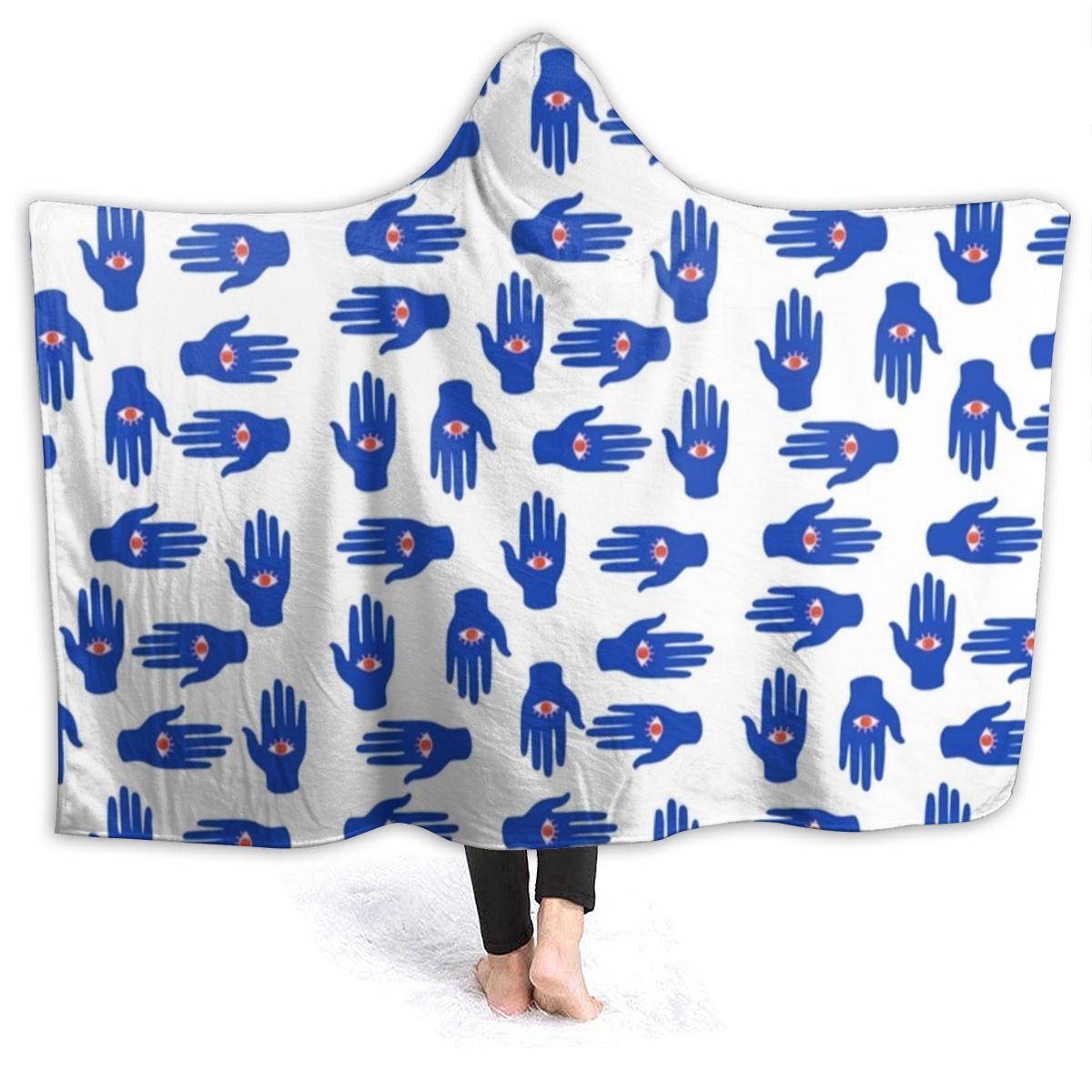 يد فاطمة بطانية الصوف في الهواء الطلق مع غطاء محرك السيارة بطانية سوبر لينة رخيصة المفرش الفاخرة