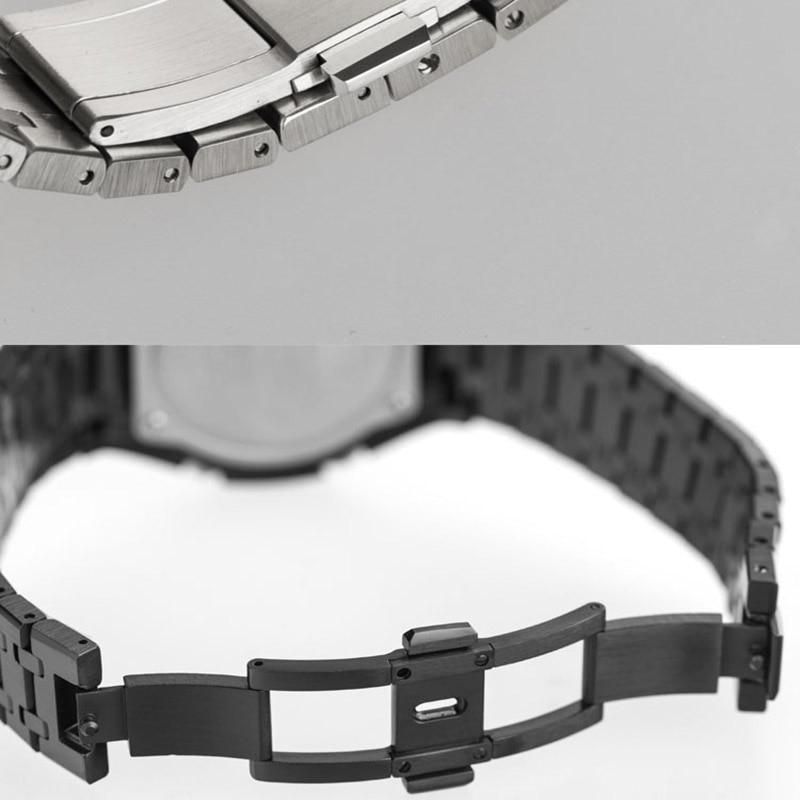 CasiOak 3th Generation GA2100 Metal Watch Strap GA2110 Watchband Bezel for Casio G-Shock GA-2100 316L Stainless Steel Belt enlarge