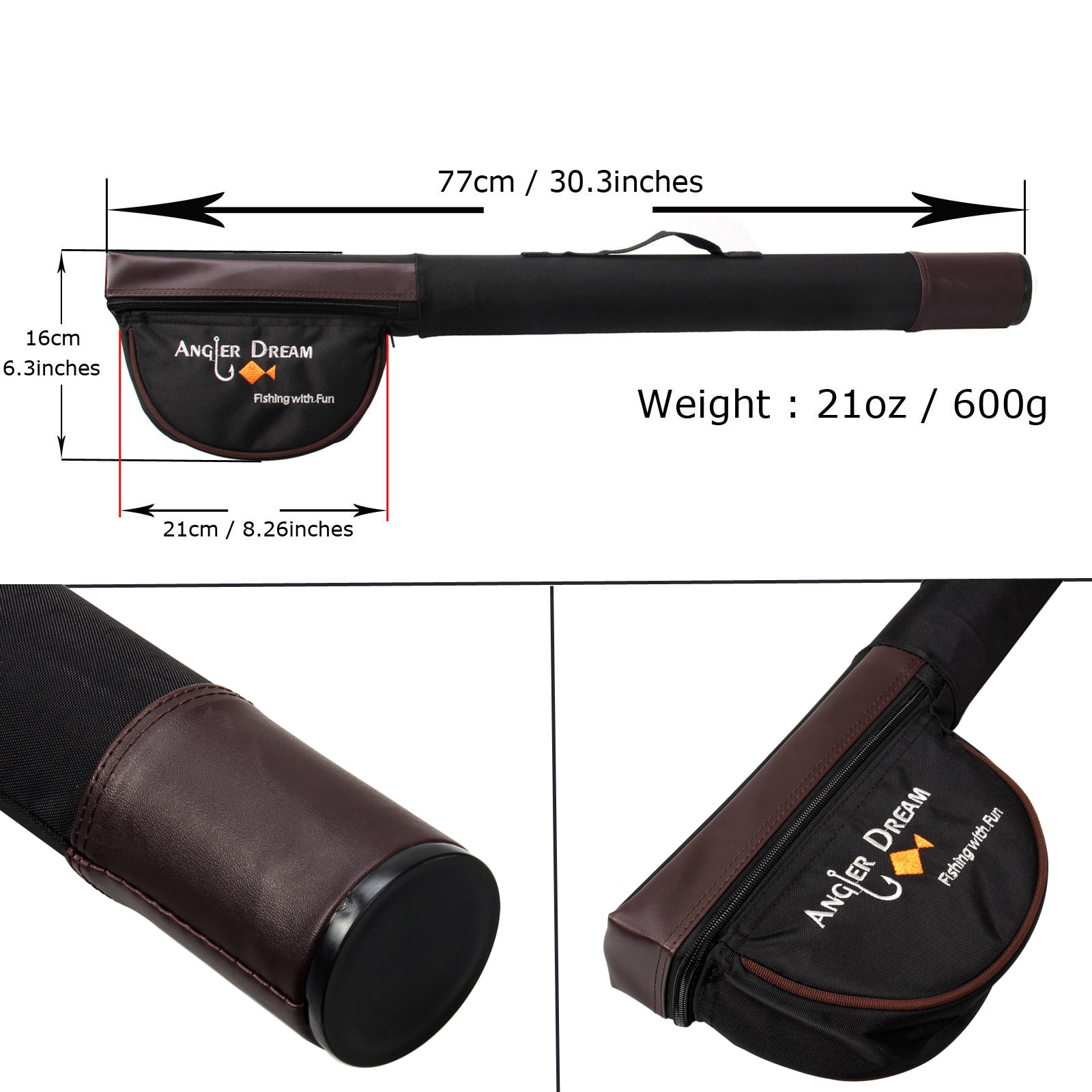 ANGLER DREAM Fly Fishing Rod 30T Carbon Fiber Appliance Accessorie With Fly Fishing Reel And Fly Fishing Line Combo Free Tippet enlarge