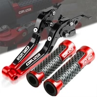 motorcycle accessories folding extendable brake clutch levers handle grips for honda cbr125r cbr 125r cbr 125 r 2011 2019 2020