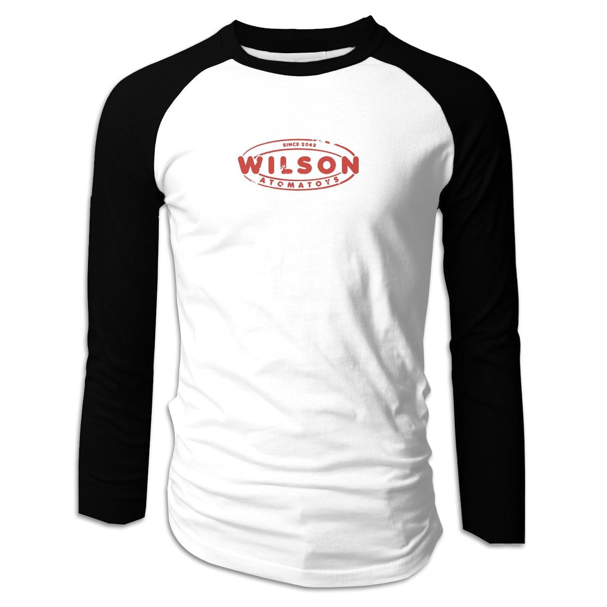 Camiseta cuello redondo manga larga para hombre estampado clásico Wilson Atomatoys - Fallout 4