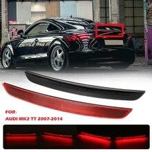 1pc High Auto Level Rear 3rd Brake Light Barn Door Car Third Brake Light High Mount Stop Lamp For Audi MK2 TT 2007-2014