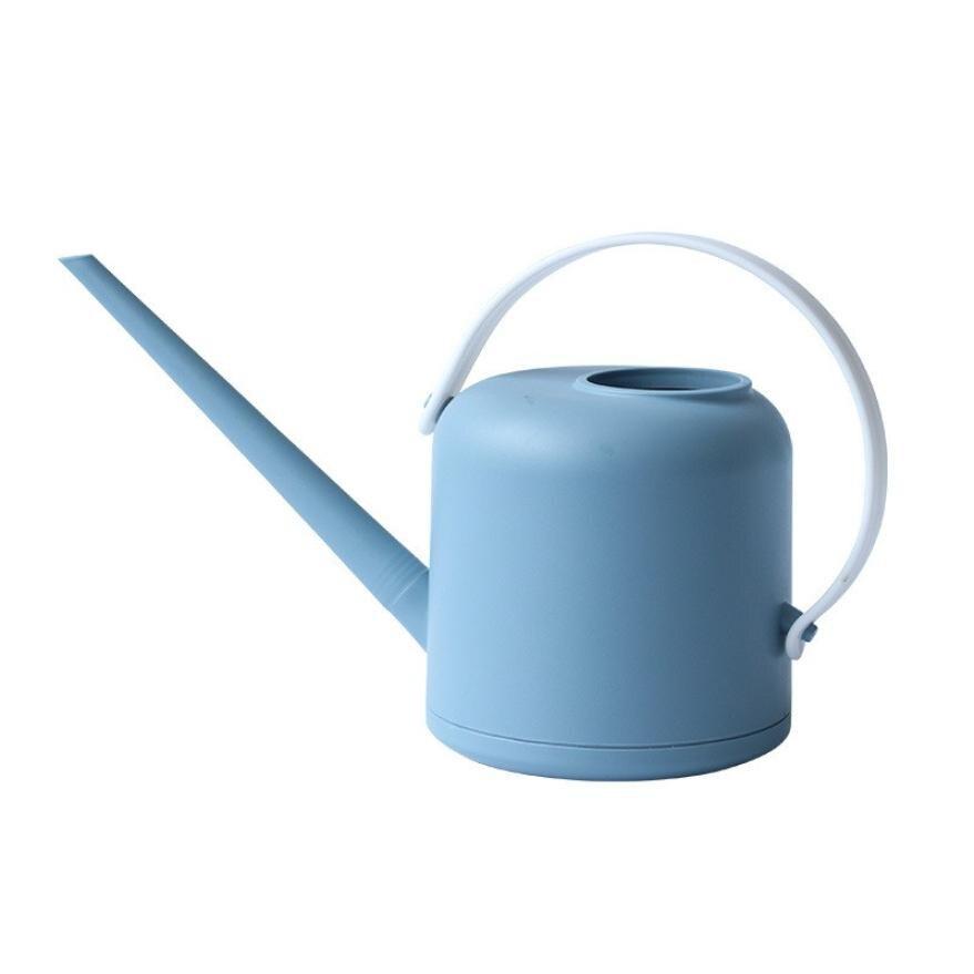 Prático boca longa latas de água casa planta pote garrafa dispositivo de rega meaty bonsai ferramenta de jardim controle de saída de água-cinza 1800ml