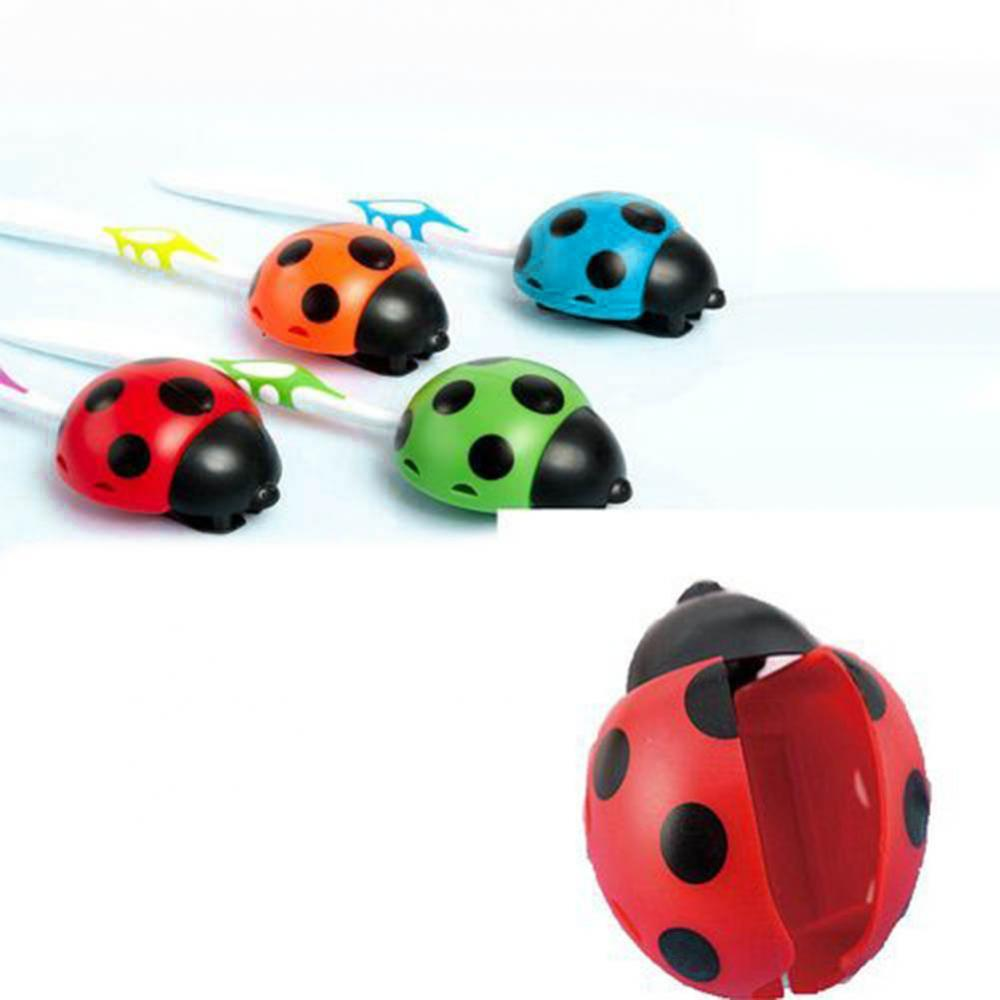 Cute Ladybug Home Bathroom Suction Cup Wall Mounted Toothbrush Holder Rack Toothbrush Holder Rack Toothbrush Holder Rack Tooth