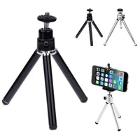 tripod for phone camera stand holder for mobile phone mini tripod for smartphone bluetooth compatible remote phone tripods metal