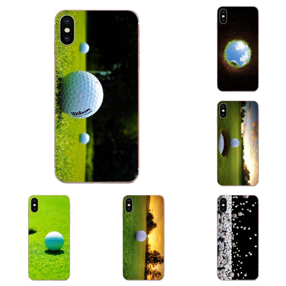 Beaucoup de balle de Golf Sport à motif imprimé pour Samsung Galaxy A10 A20 A20E A3 A40 A5 A50 A7 J1 J3 J4 J5 J6 J7 2016 2017 2018