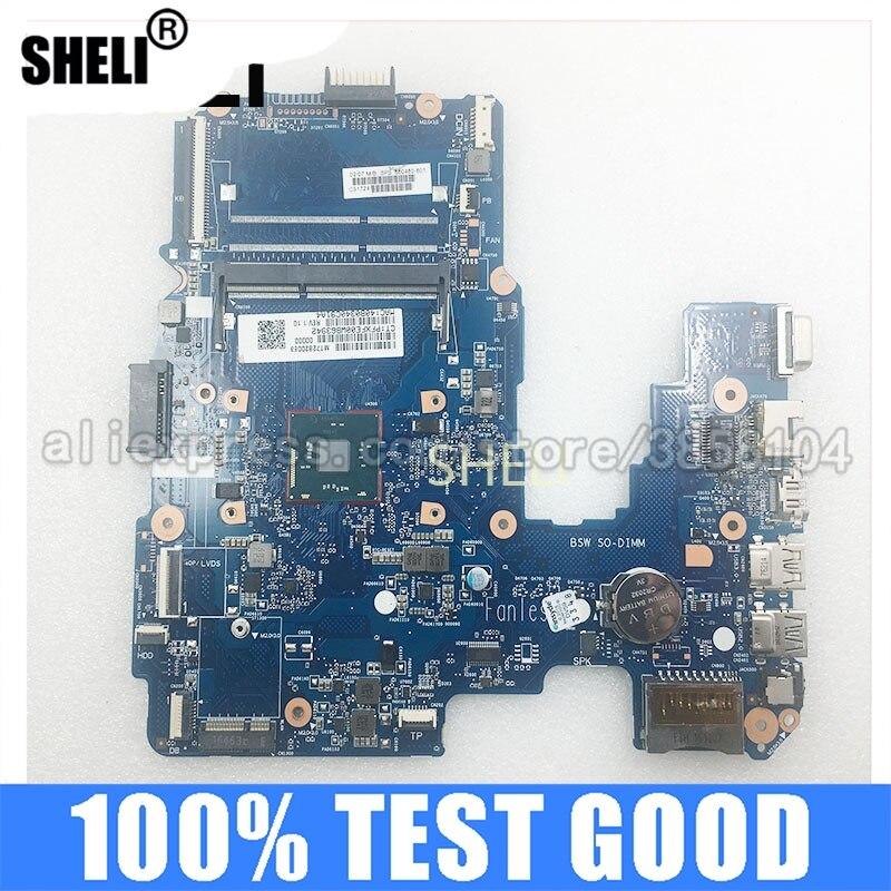 SHELI للوحة الأم HP 240 G5 مع وحدة المعالجة المركزية N3060 860460-601 860460-001