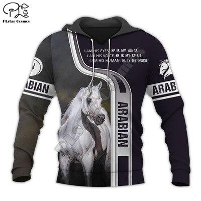 PLstar Cosmos caballo de carreras de nueva moda de chándal Pullover de plata cremallera/sudaderas con capucha/sudadera/chaqueta para hombre mujer s10