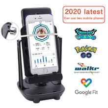 Lefon Phone Walking Swing Shaker Mobile Stand Holder Pedometer Brush Stepper For Pokemon Go Phone Wi