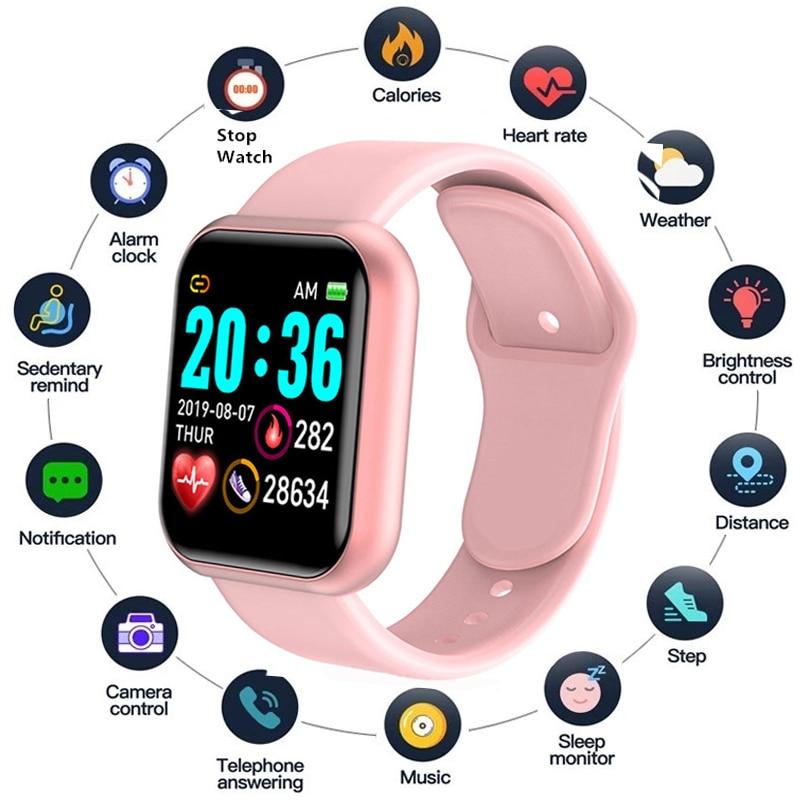 Умные спортивные часы, мужские часы, цифровые светодиодные электронные носимые наручные часы для мужчин, мужские наручные часы для женщин и...