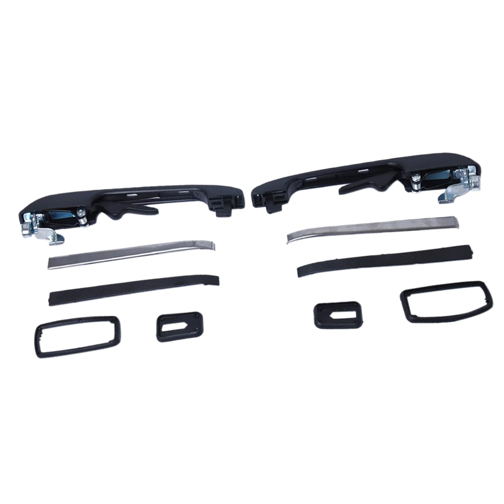 Peças de substituição do punho da porta exterior traseira do carro para vw golf/jetta mk2