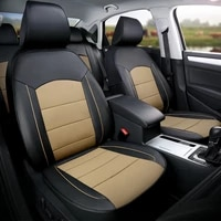 custom fit seat covers for nissan qashqai 2021 2020 2018 2016 genuine leather leatherette car seat cushion cover support 13pcs
