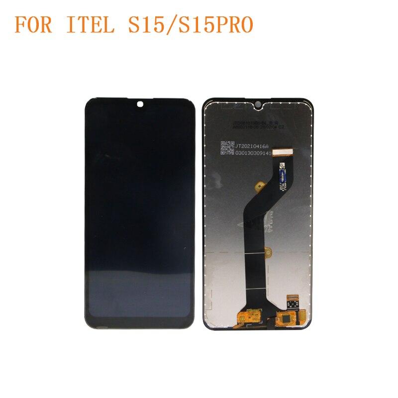 5 قطعة/الوحدة الأصلي مع أداة ل ITEL S15 aca A56 LCD عرض لوحة اللمس شاشة محول الأرقام الجمعية استبدال أجزاء