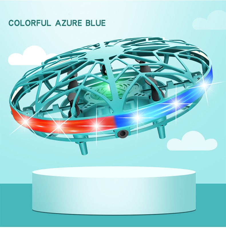 ZK22 UFO Helicopter Fly Helicopter Hand Operated Drone HandsFree 360 Rotating FlyNova Toy Motion Sensor Drone Best Gift for Kids enlarge