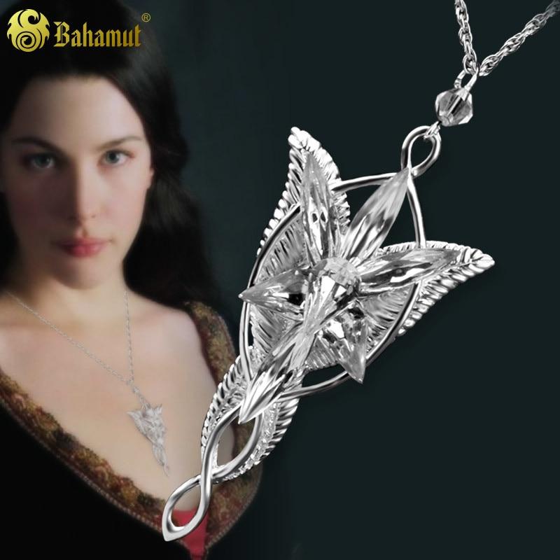 Silver Twilight Star Pendant Necklace for Women 925 Silver Jewelry Magic Ring Fairy Princess Female Mori Style Accessories