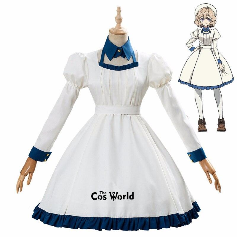 Kyokou suiri (in/spectre) iwanaga kotoko lolita vestido uniforme roupa anime cosplay trajes
