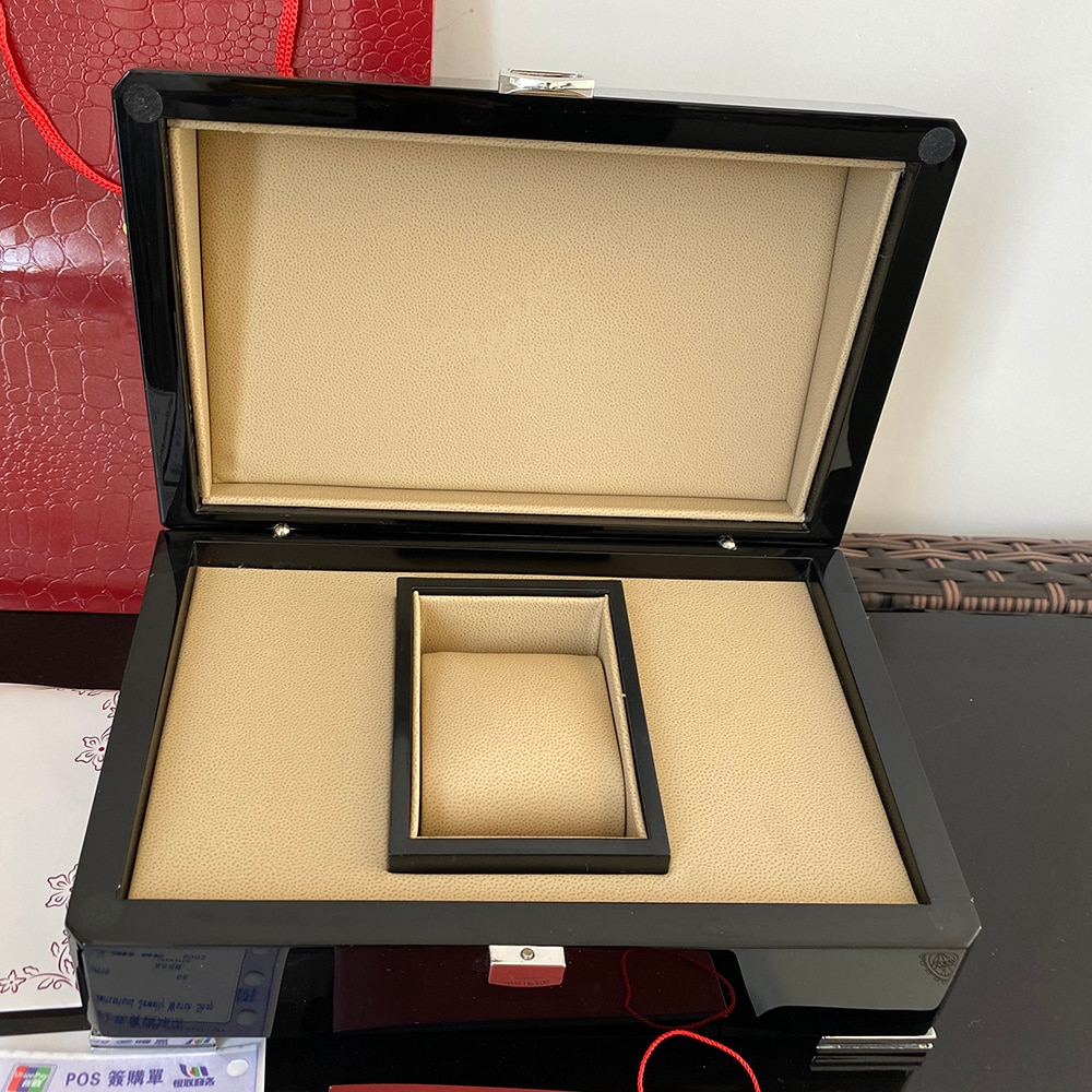 High Quality  Nautilus Watch Original Box Papers Card Wood Boxes Handbag For 5167 5711 5980  Watches Box enlarge