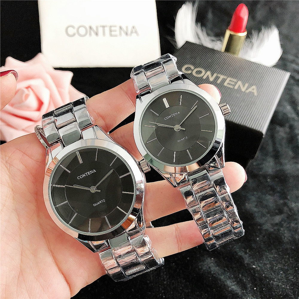 Reloj Mujer Brand Hot Sale Classic Casual Fashion Simple Couple Watch Business Sports Non-Mechanical