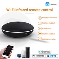 Telecommande universelle Tuya Smart WiFi-IR  pour climatiseur TV Smart Life Tuya APP Control  fonctionne avec Alexa Google Home