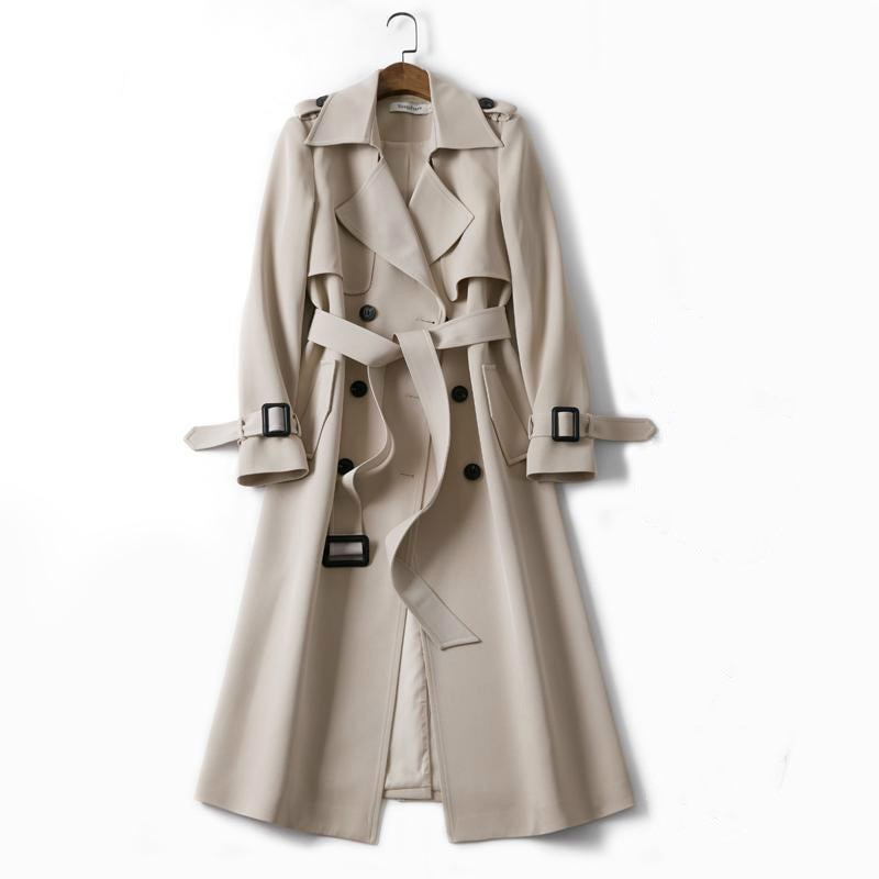 Women's trench coat 2020 mid-length spring and autumn British style coat spring and autumn coat