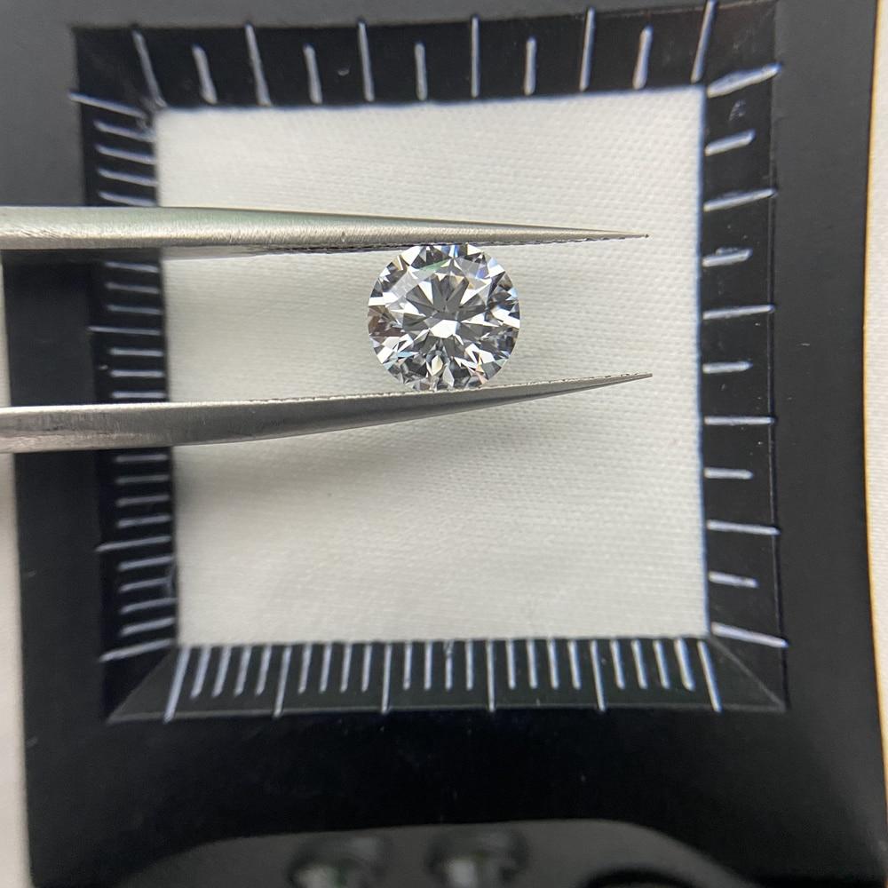 Meisidian ممتاز قص D VS2 0.7 قيراط مختبر نمت Hpht IGI CVD الماس حجر خاتم صنع