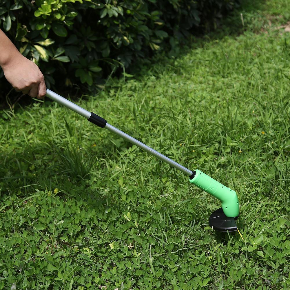 Portable Grass Trimmer Cordless Garden Lawn Weed Cutter Edger Zip Ties Kits