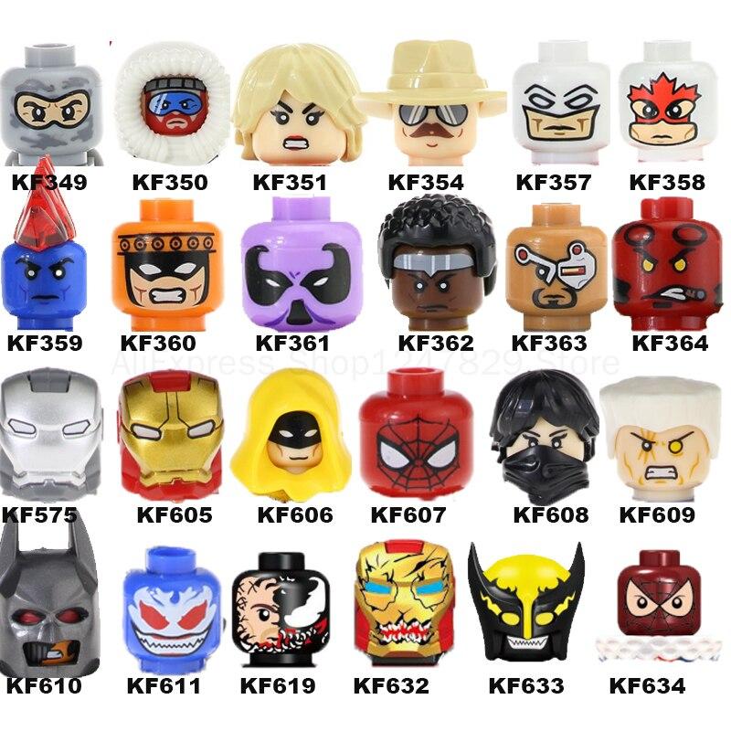Фигурки героев фильма 2021, строительные блоки, игрушки для детей, детские подарки, аниме кирпичи, развивающие игрушки для детей, подарок KF6028