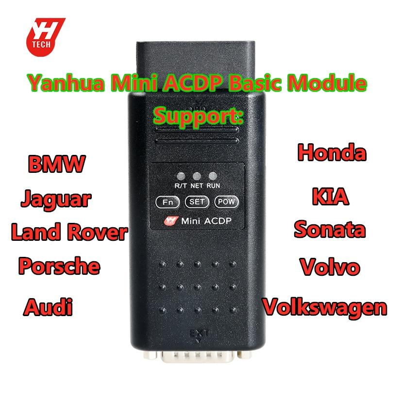 Yanhua Mini ACDP host programador módulo básico para programador de llaves de coche
