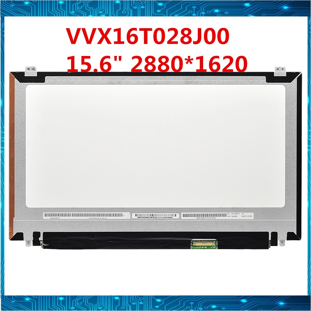 Original para lenovo Thinkpad T540p T550 T540 W540 W550s W540P pantalla LCD de ordenador portátil VVX16T028J00 VVX16T020G00 3K 2880*1620 prueba