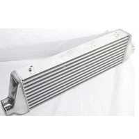 aluminum universal intercooler 27x7x2 5 2 5 inlet and outlet