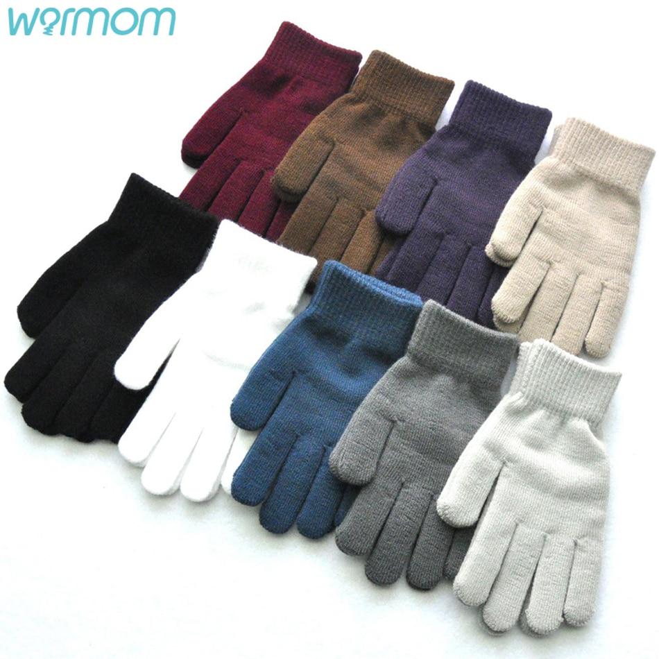 Теплые вязаные шерстяные перчатки для 16 лет зимние теплые и бархатные плотные перчатки для верховой езды зимние теплые варежки