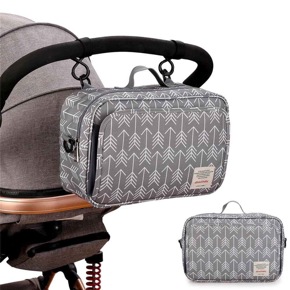 Diaper Bag Baby Bag Stroller Travel Bag Waterproof Stroller Bag Handbag Tote Bag Diaper Bag Nurse Nappy Maternity Bag Mommy Bag