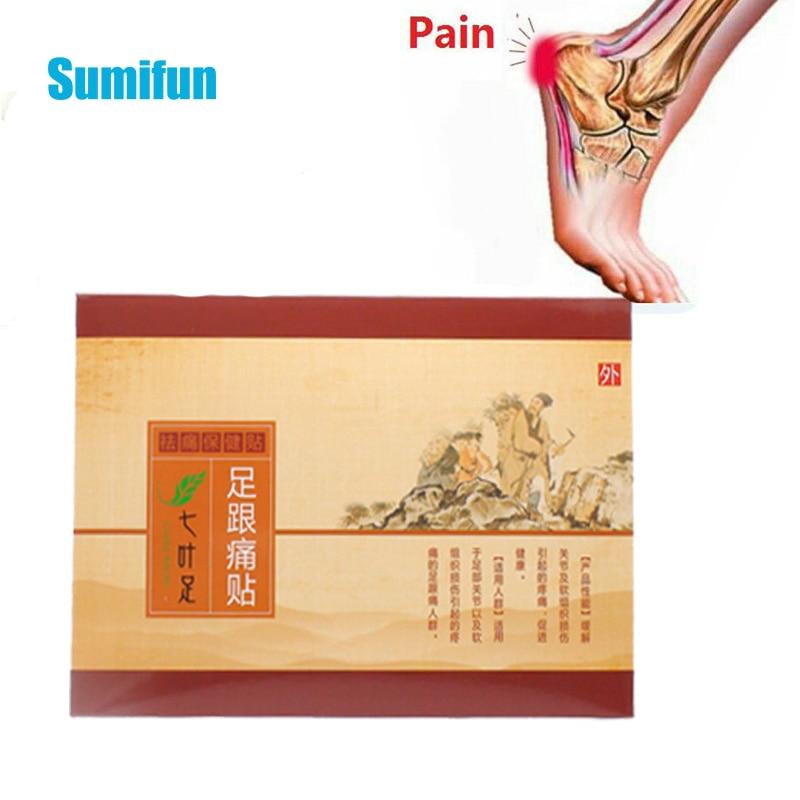 1pcs Sumifun Heel Spur Pain Relief Medical Patch Rapid  Herbal Calcaneal Achilles Tendinitis Pads