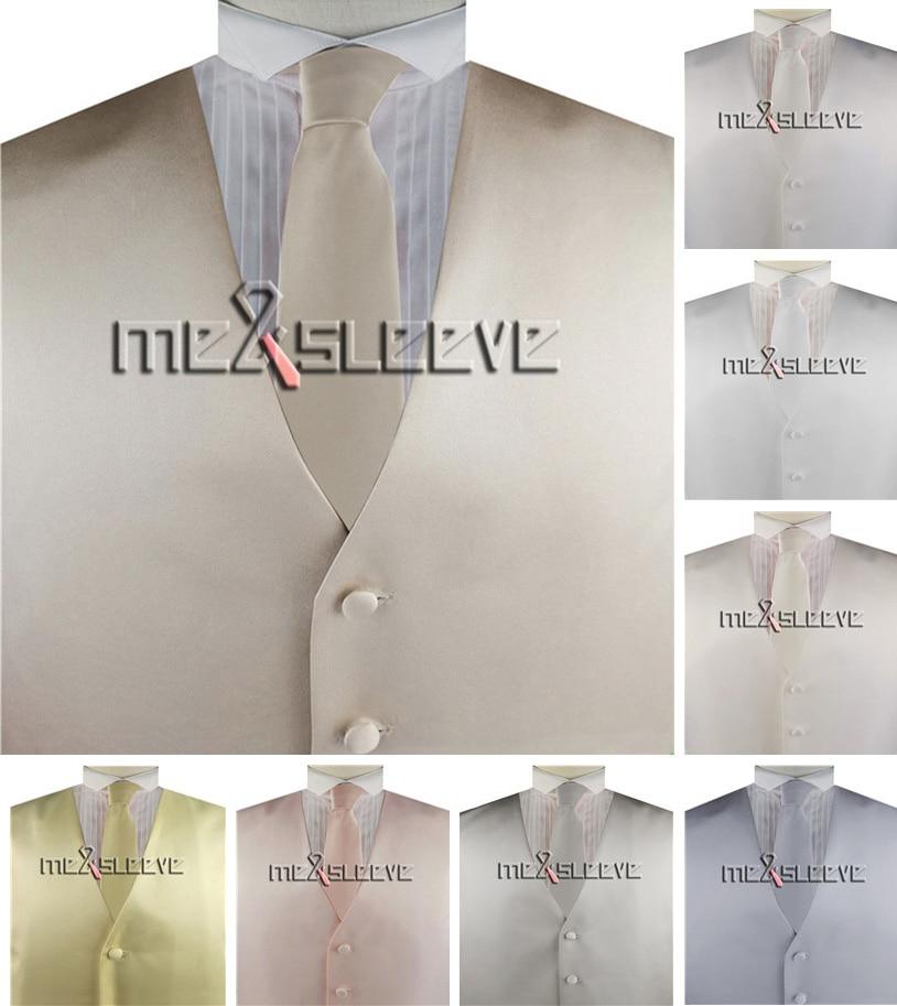 Мужской однотонный жилет для смокинга с галстуком + галстуком-бабочкой + накидкой, 4 шт.