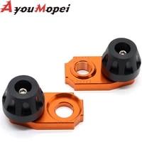 chain adjuster regulator sliders for exc excfg 525 520 500 450 400 350 380 300 250 200 125 motorcycle rear wheel protector