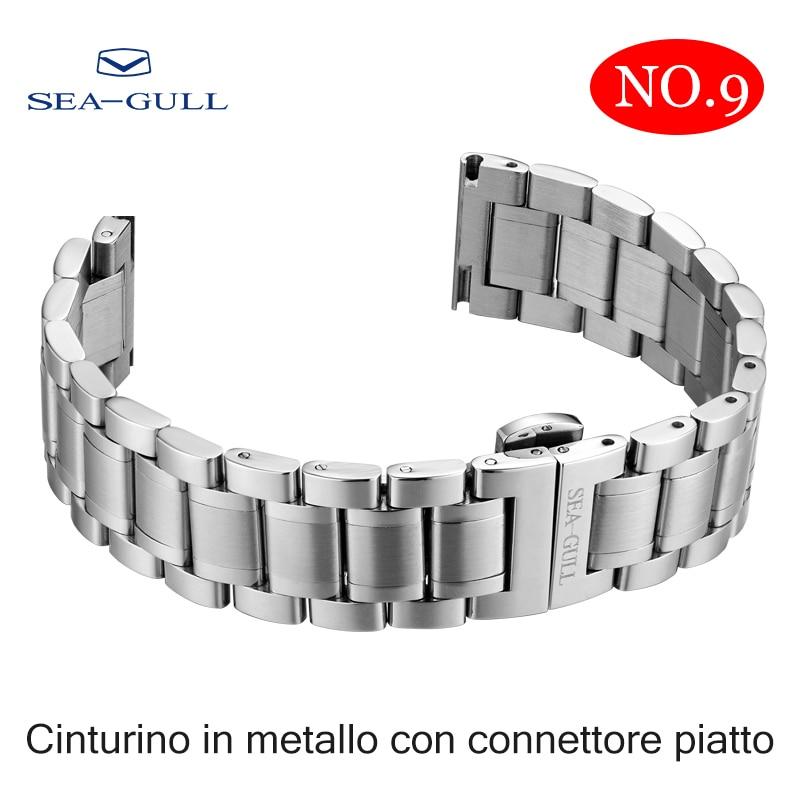 Seagull Relógio Masculino Feminino Pulseira Original 20mm
